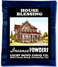 Lucky Mojo Curio Co.: House Blessing Incense Powder