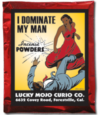 Lucky Mojo Curio Co.: I Dominate My Man Incense Powder