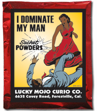 Lucky Mojo Curio Co.: I Dominate My Man Sachet Powder