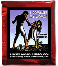 Lucky Mojo Curio Co.: I Dominate My Woman Incense Powder