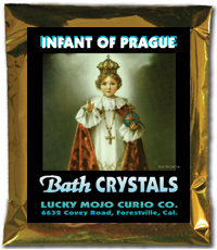 Lucky Mojo Curio Co.: Infant of Prague (Nino de Praga) Bath Crystals