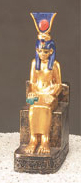 Isis-on-a-Throne-Statue-at-Lucky-Mojo-Curio-Company