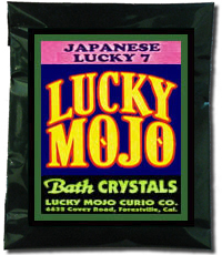 Lucky Mojo Curio Co.: Japanese Lucky 7 Bath Crystals