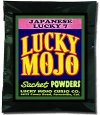 Lucky Mojo Curio Co.: Japanese Lucky 7 Sachet Powder
