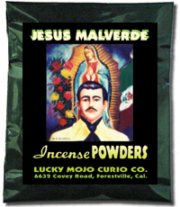 Lucky Mojo Curio Co.: Jesus Malverde Incense Powders