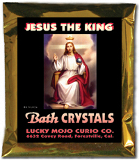Lucky Mojo Curio Co.: Jesus Christ the King Bath Crystals