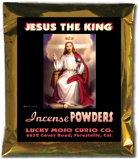 Lucky Mojo Curio Co.: Jesus Christ the King Incense Powders