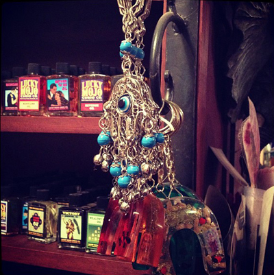 Keychains-and-Oils-Shelves-at-the-Lucky-Mojo-Curio-Company