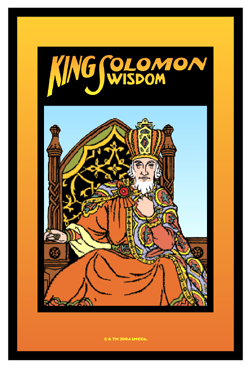 Lucky Mojo Curio Co.: King Solomon Wisdom Glass Encased Vigil Light Candle