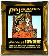 Lucky Mojo Curio Co.: King Solomon Wisdom Incense Powder