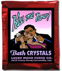 Lucky Mojo Curio Co.: Kiss Me Now! Bath Crystals