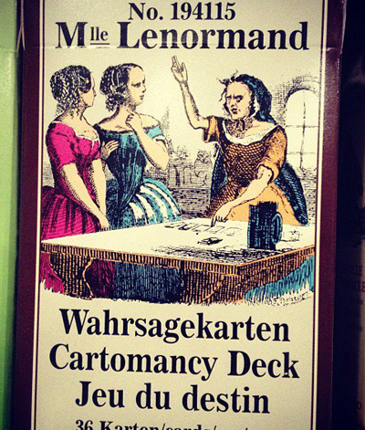 Mademoiselle-Lenormand-Deck-Number-194115-on-the-shelf-of-the-Lucky-Mojo-Curio-Company