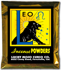 Lucky Mojo Curio Co.: Leo Incense Powder