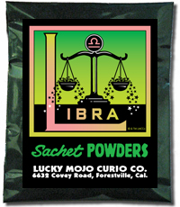 Lucky Mojo Curio Co.: Libra Sachet Powder
