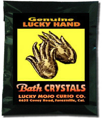 Lucky Mojo Curio Co.: Lucky Hand Bath Crystals