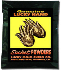 Lucky Mojo Curio Co.: Lucky Hand Sachet Powder