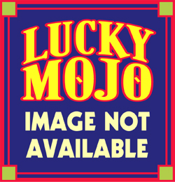 Lucky Mojo Curio Co.: Lavender Love Drops Painted Bottle, Empty