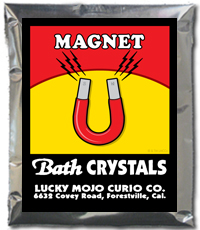 Lucky Mojo Curio Co.: Magnet Bath Crystals