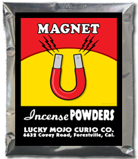 Lucky Mojo Curio Co.: Magnet Incense Powder