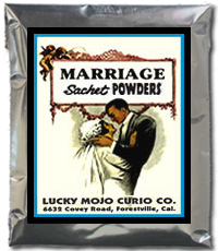 Lucky Mojo Curio Co.: Marriage Sachet Powder