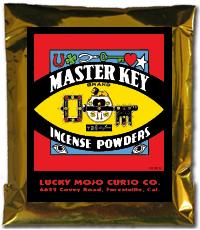Lucky Mojo Curio Co.: Master Key Incense Powder