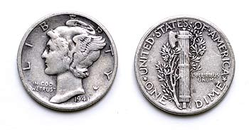 Silver-Dime-at-the-Lucky-Mojo-Curio-Company