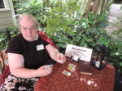 Miss Michaele Reader's Table