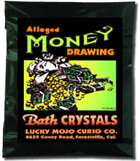 Lucky Mojo Curio Co.: Money Drawing Bath Crystals