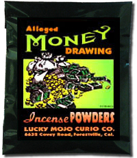 Lucky Mojo Curio Co.: Money Drawing Incense Powder