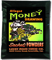 Lucky Mojo Curio Co.: Money Drawing Sachet Powder