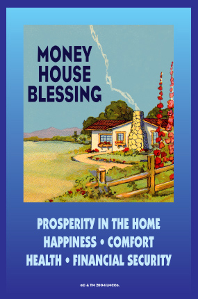 Money House Blessing Spiritual Supplies