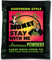 Lucky Mojo Curio Co.: Money Stay with Me Incense Powder