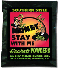 Lucky Mojo Curio Co.: Money Stay With Me Sachet Powder