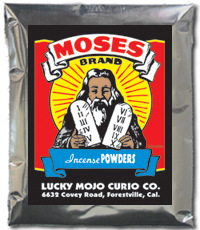 Lucky Mojo Curio Co.: Moses Incense Powder