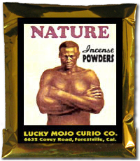 Lucky Mojo Curio Co.: Nature Incense Powder