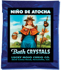 Lucky Mojo Curio Co.: Nino de Atocha (Infant of Atocha) Bath Crystals