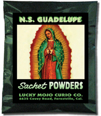 Lucky Mojo Curio Co.: O.L. of Guadalupe (N.S. Guadalupe) Sachet Powders