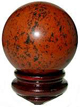 Obsidian-Mahogany-Sphere-Three-Inch-at-Lucky-Mojo-Curio-Company