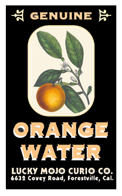 Orange Water-at-Lucky Mojo Curio Company-in-Forestville-California