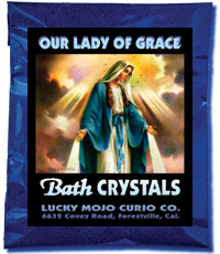 Lucky Mojo Curio Co.: O.L. of Grace (N.S. Grazia) Bath Crystals