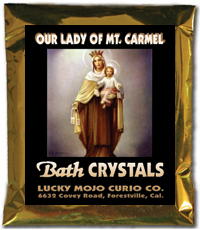 Lucky Mojo Curio Co.: O.L. of Mt. Carmel (N.S. Carmen) Bath Crystals