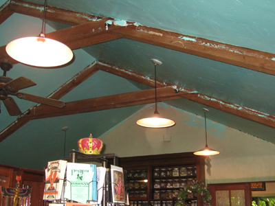 Repainting the Ceiling at the Lucky Mojo Curio Company