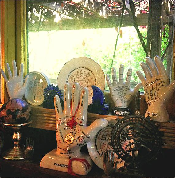 Palmistry-Hands-at-the-Lucky-Mojo-Curio-Company