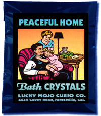 Lucky Mojo Curio Co.: Peaceful Home Bath Crystals