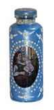 Lucky Mojo Curio Co.: Peaceful Home Painted Bottle, Empty
