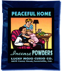 Lucky Mojo Curio Co.: Peaceful Home Incense Powder
