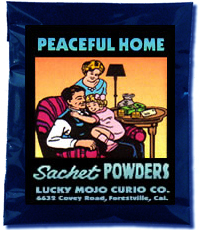 Lucky Mojo Curio Co.: Peaceful Home Sachet Powder