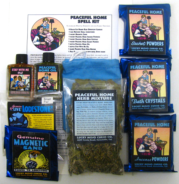 Lucky Mojo Curio Co.: Peaceful Home Spell Kit