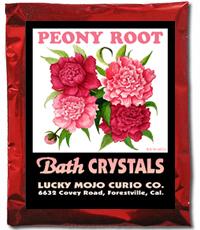 Lucky Mojo Curio Co.: Peony Root Bath Crystals