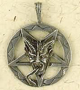 Pewter-Baphomet-Pentacle-Amulet-at-Lucky-Mojo-Curio-Company